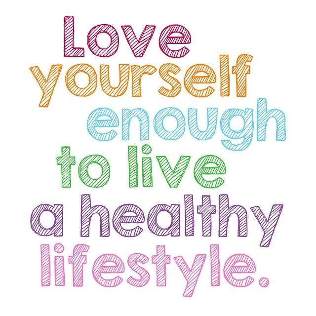 Healthy Lifestyle (Love Yourself Poster)