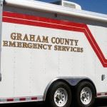 Graham County Emergency Services truck